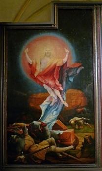 Auferstehung Isenheimer-Altar